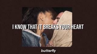 Ariana Grande -  ghostin // lyrics