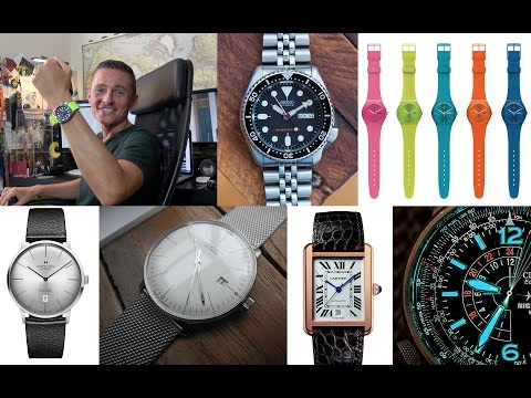 Watch Buyer's Guide Part 2 - Buying Your First Wristwatch - My Top 5 Essentials You Should Know