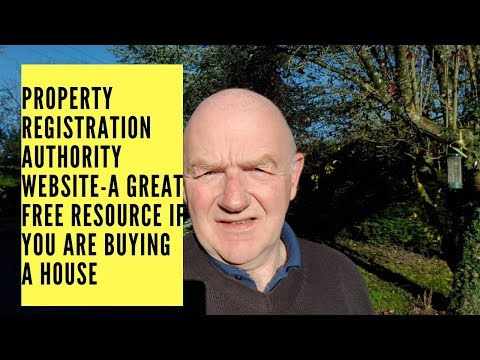 Property Registration Authority Website-a Great Free Resource if You Are Buying Property in Ireland