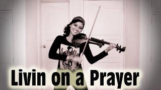 BON JOVI 💿 en VIOLIN ELECTRICO!! (Livin on a Prayer)...excelente!!