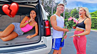 24 HOURS IN MY BOYFRIENDS CAR! *CAUGHT HIM*