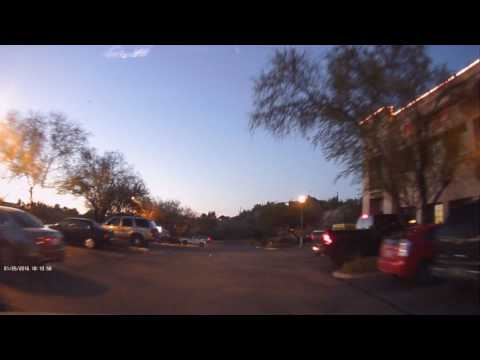 Uniden DCAM Dashcam Twilight Street Performance