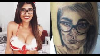 Mia Khalifa zoa garoto brasileiro que fez tattoo com seu rosto
