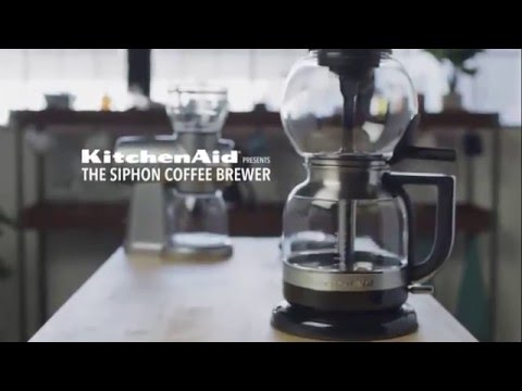 KitchenAid Siphon Coffee Brewer - Introduction