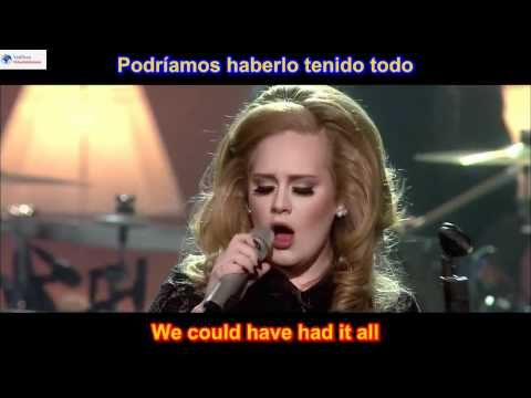 Rolling In The Deep - Adele (SUBTITULADO EN INGLES ESPAÑOL LYRICS SUB HD )