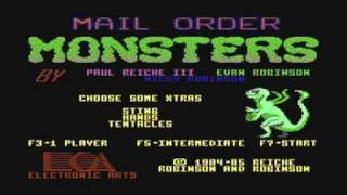 Mail Order Monsters - C64 (EA 1985)