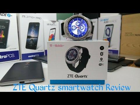 ZTE Quartz Smartwatch Review