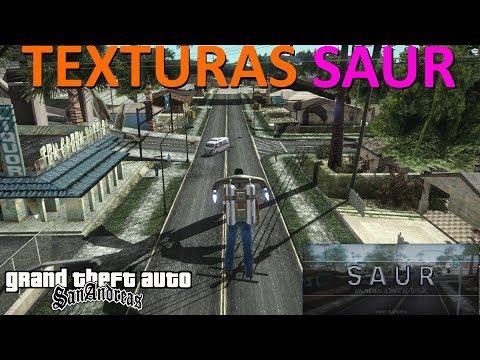 PACK DE TEXTURAS SAUR (Mix De RoSA Project + SRT 1.7 + GTA V + Outros) PC Baixo Rendimento Low