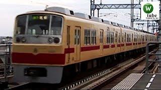西鉄2000形回送列車 花畑駅出発 2010年秋 Nishitetsu Tenjin Omuta Line