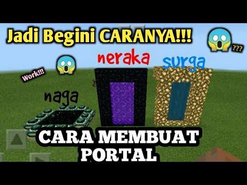 Cara Membuat Portal Naga,neraka Dan Surga Di Minecraft