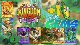 Kingdom Rush Origin Hacked (Mod Apk) Unlimited Gems All Hero Unlocked