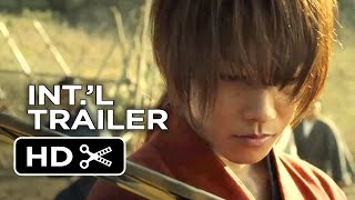 Rurouni Kenshin: Kyoto Inferno / The Legend Ends Official Trailer (2014) - Japanese Live Action HD