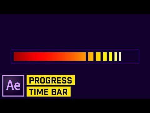 BUILD a Custom Timed PROGRESS Bar in After Effects CC