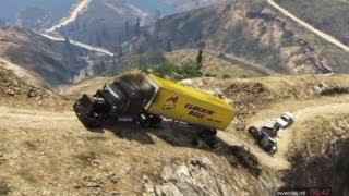 GTA 5 TRAILER TRUCK TERROR OFFROAD