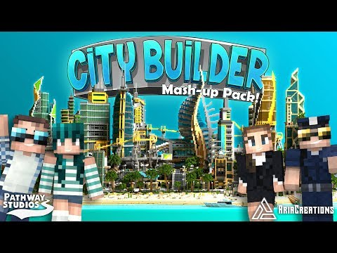 City Builder [Minecraft Marketplace] CITY BUILDING MASHUP PACK