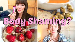 What I Ate & Body Shaming | Food Diary Friday