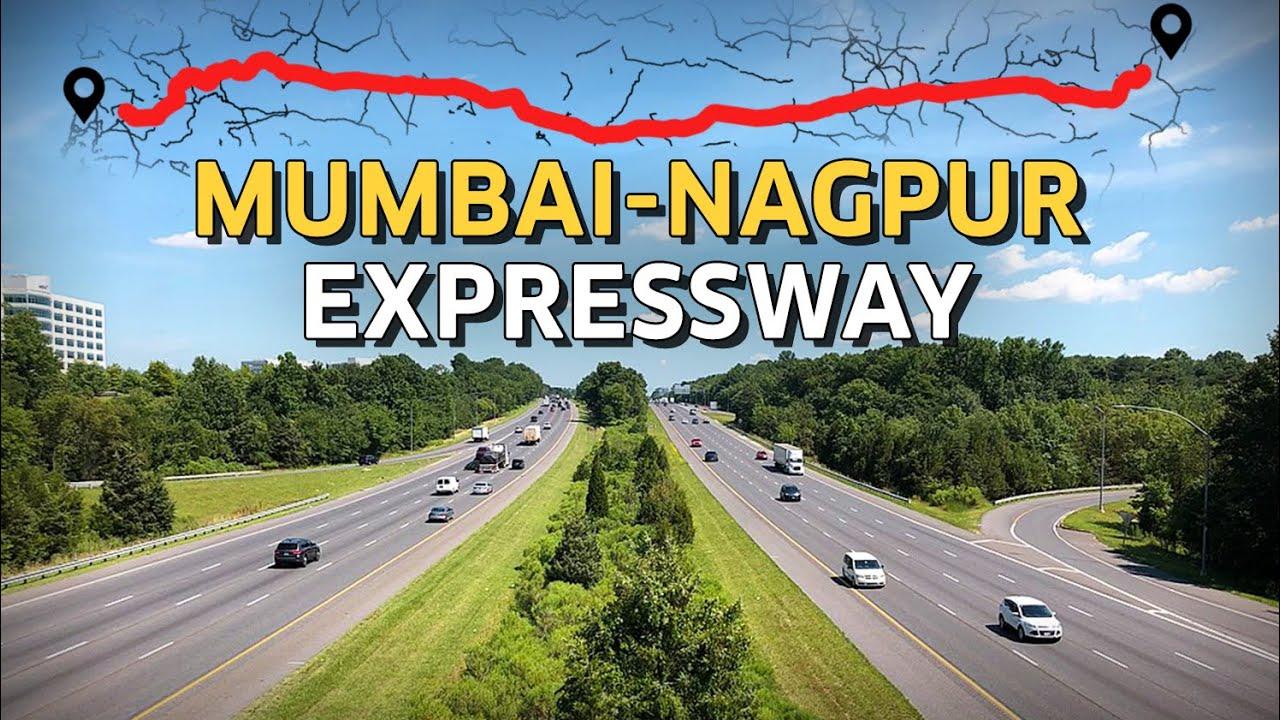 Mumbai-Nagpur Expressway will be Maharashtra's Longest Expressway