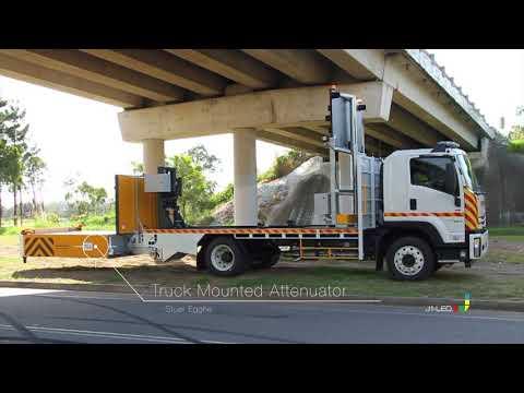 Sliding Truck Mounted Attenuator (sTMA)