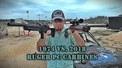 Old vs. New: Ruger Pistol Caliber Carbines - .44 Mag Model 44 vs. 9mm PC Carbine