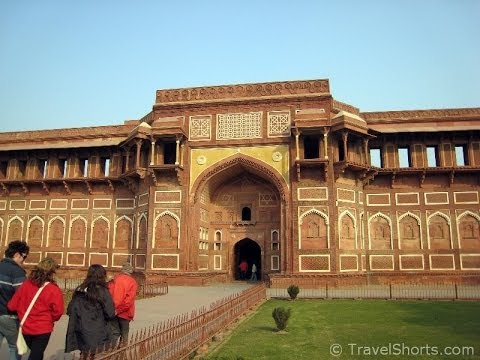The Agra Fort in India  Full Guided Tour