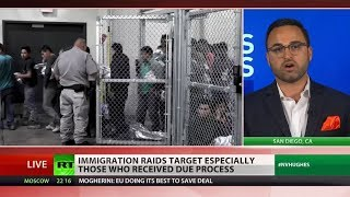 Details about ICE raids media not focused on