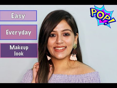 EASY EVERYDAY MAKEUP LOOK USING AFFORDABLE PRODUCTS|| THE VANITY CULTURE||