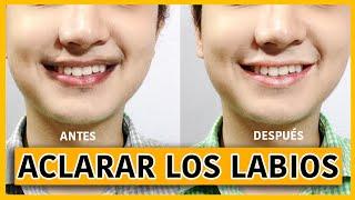COMO ACLARAR LOS LABIOS OSCUROS FÁCIL / TRUCOS CASEROS thumbnail