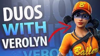 Fortnite Duos With Verolyn - New Fastball Skin (THICKUMS)