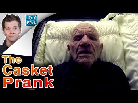 The Casket Prank!