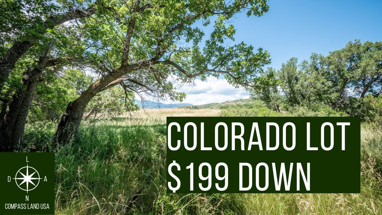 Sold by Compass Land USA - Beautiful Colorado Land for Sale $199 Down