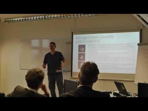 Neues in Microsoft Exchange Server 2013 (1/2) - IT-Jogging bei Netz-Weise mit MVP Marc Grote