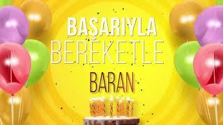 İyi ki doğdun BARAN- İsme Özel Doğum Günü Şarkısı (FULL VERSİYON)