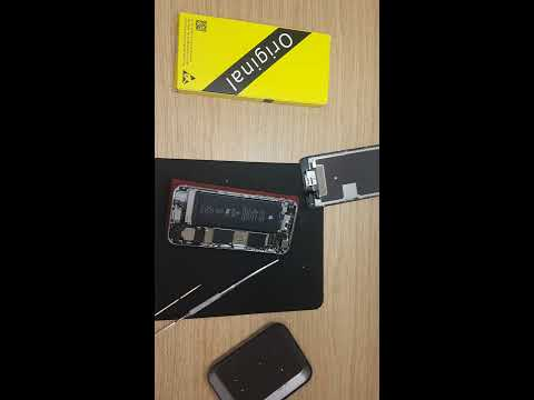 Apple iphone 6s black - How to take out LCD screen and clean your phone. LCD screen replacement