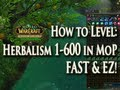 MoP Herbalism Guide 1-600 Leveling Fast & Easy! How to Level Herbalism