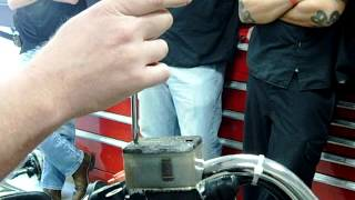 removing stripped master cylinder screws without damaging the master cylinder cap part 1