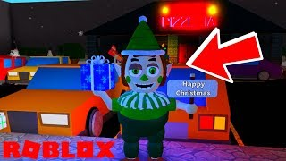 Finding NEW Christmas Badge in Roblox FNAF 6 Lefty's Pizzeria Roleplay