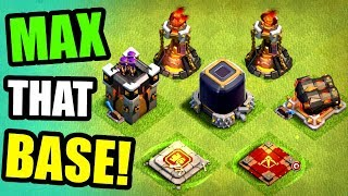 TIME TO MAX OUT TOWN HALL 11!! 🔥 Clash Of Clans 🔥