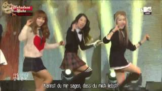 [HD Live] Various Girl Group Members - Way To Go (SNSD Cover) [German Subs]