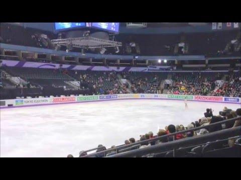 Mao Asada 2013 ISU World Figure Skating Championships FP practice