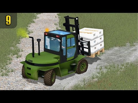 NEW FORKLIFT MOVING FISHY STUFF | PGR Bruzda Episode 9
