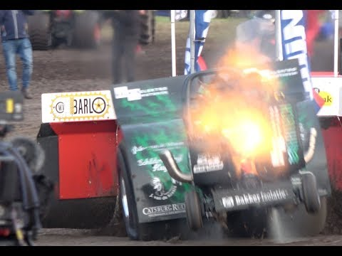 Team Lambada - Tractor Pulling Brande - Eurocup Mini Unlimiteds final and Heavy Modifieds 4K