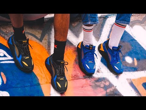 STYLE BASE: PUMA x Hot Wheels RS-X Pack - YouTube