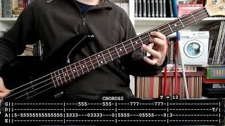 BARRICADA - Mañana será igual (bass cover w/ Tabs) [full HD]