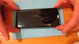 SAMSUNG S8 S9 S10 IPHONE X защитное стекло на УЛЬТРАФИОЛЕТОВЫЙ клей (УФ-клей, UV glue)