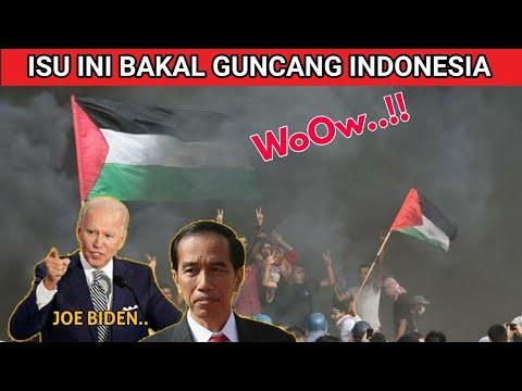 GuNcanG INDONESIA..! JOE BIDEN TETAP PILIH ISRAEL / Beri KemerDekaan  PALESTINA