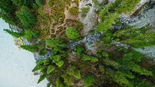 Kicking Horse River Rafting in Golden, BC - Drone Footage