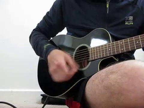 Ebay Yamaha APXT2 electro-acoustic black guitar
