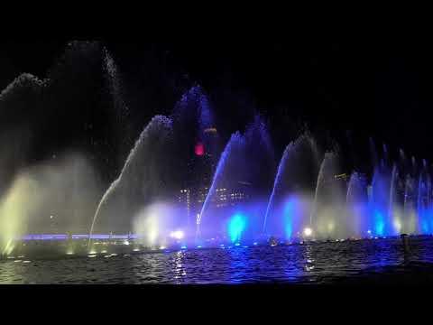 曼谷 ICONSIAM 河畔水舞燈光秀 《曼谷自由行 EP6》
