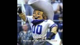 All of the NFL Mascots
