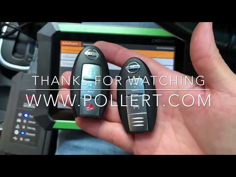 Program Smart remote Nissan TIIDA 2009 with Key Master DP Presented by Pollert